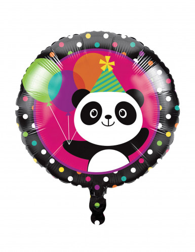 Ballon en aluminium Panda Party