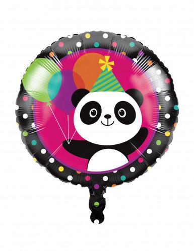 Ballon en aluminium Panda Party