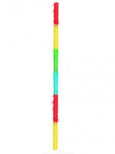 Baton piñata en bois multicolore 90 cm