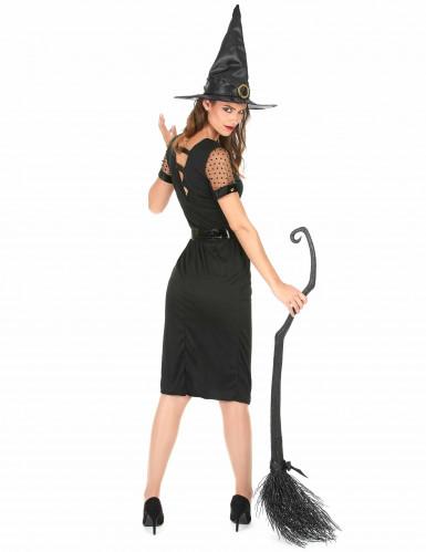 Déguisement Sorcière Sexy Noire Femme Halloween -2