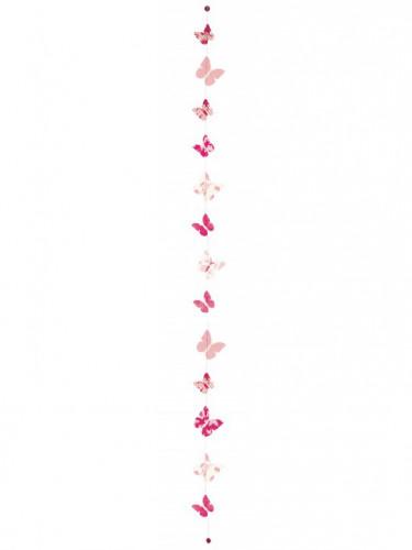 Décoration à suspendre lokta papillons 180 cm-1