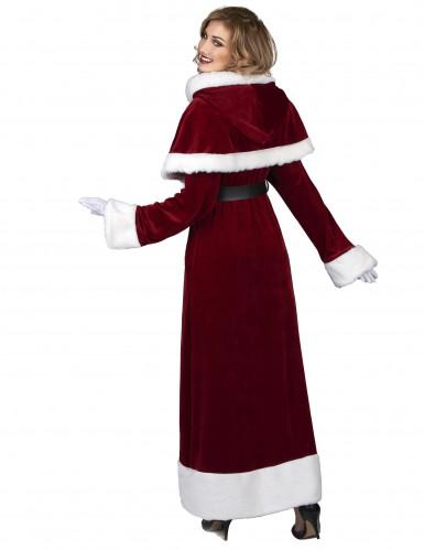 Déguisement de Mère Noël Super Luxe adulte-2