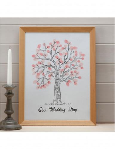arbre empreintes souvenir mariage d coration anniversaire et f tes th me sur vegaoo party. Black Bedroom Furniture Sets. Home Design Ideas