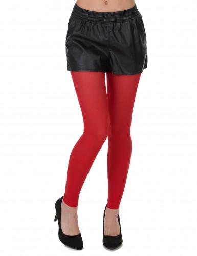Legging rouge adulte