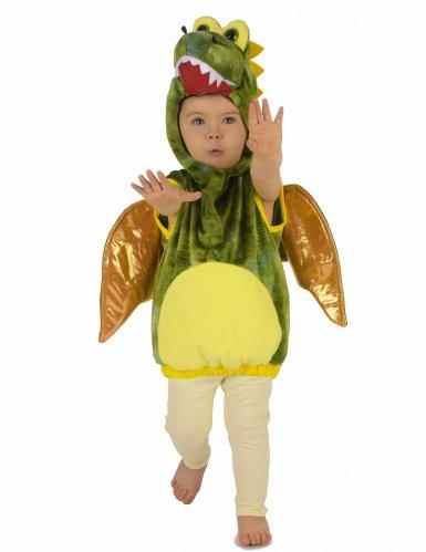 Déguisement dinosaure vert enfant-6
