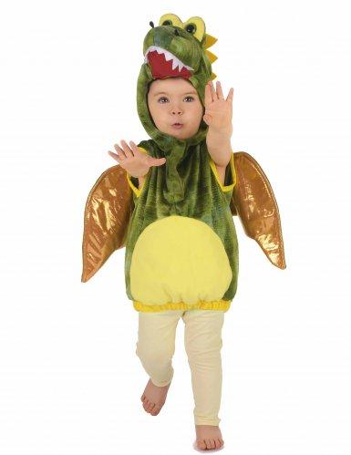 Déguisement dinosaure vert enfant-4