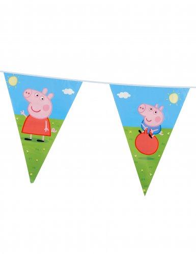 Guirlande fanions Peppa Pig ™ 270 cm-1