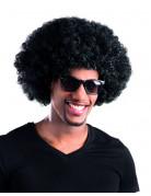 Perruque afro/ clown noire volume adulte