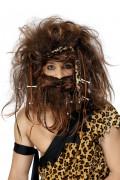 Perruque et barbe  des cavernes homme