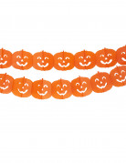 Guirlande citrouille Halloween 4m