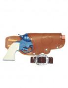 Pistolet et ceinture en plastique