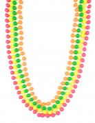 Colliers perles fluorescentes adulte
