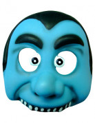 Masque vampire bleu enfant
