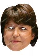 Masque carton Martine Aubry