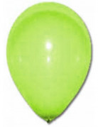 12 Ballons verts clairs 28 cm