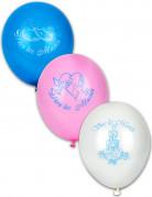 10 Ballons Vive les mariés