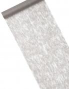 Chemin de table intissé uni gris 10 m