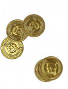 Lot de 30 fausses pièces en or
