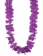 Collier Hawaï violet