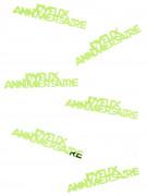 Confettis de table Joyeux Anniversaire verts anis