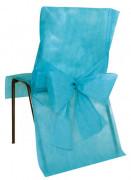 10 Housses de chaise Premium turquoise