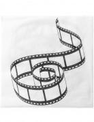20 Serviettes en papier Cinéma 33 cm