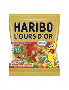 Sachet Bonbons Haribo L'ours d'Or 120 g.