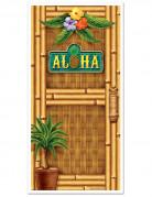 Décoration de porte Hawaï