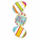 Ballon aluminium oeufs de Pâques 99 cm x 38 cm