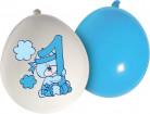 20 Ballons bleus Teddy 1 an garçon
