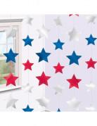 6 Décorations à suspendre USA étoiles