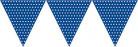 Guirlande papier bleu