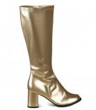 Bottes dorées femme