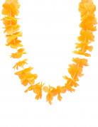 Collier hawaï orange