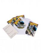 6 Cartes d'invitations + enveloppes  Batman™