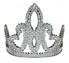 Diadème princesse argenté fille