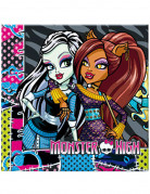 20 Serviettes en papier Monster high™