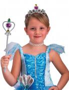Set princesse argenté fille