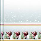 Nappe papier en rouleau Père Noël