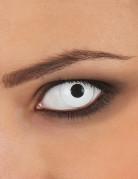 Lentilles de contact oeil blanc adulte