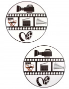 2 Sets de table Cinéma