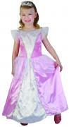 Déguisement princesse rose et blanche fille
