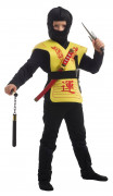 Coffret accessoires ninja jaune