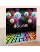 Décoration murale Boules à facettes Disco 82 x 165 cm