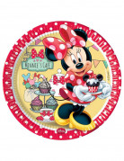 8 Assiettes en carton Minnie café™ 23 cm