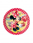 8 Petites assiettes en carton Minnie café™ 20 cm