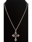 Collier vampire gothique adulte Halloween