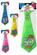 Cravate humoristique 30 ans