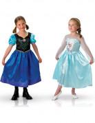 Déguisement duo Anna et Elsa La Reine des Neiges™ fille