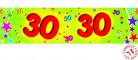 Banderole papier 30 ans 0,16x2,44m
